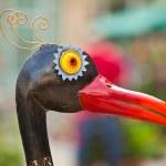 Metal bird — Stock Photo #5820411