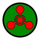 Chemical Weapon Symbol — Stock Vector