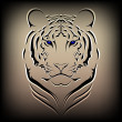 Vector tiger — Stock Vector #6474699