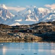 Stockfoto: House in Antarctica
