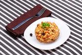 Delicious couscous — Stock Photo