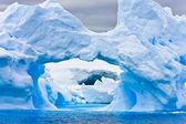 Iceberg antartici — Foto Stock