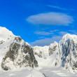 Beautiful snow-capped mountains - Stockfoto