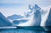 антарктического айсберга — Стоковое фото