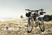 Two bikes — Stock Photo