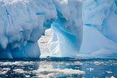 Antarktisk glaciär — Stockfoto