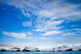 Piękne ośnieżone góry — Zdjęcie stockowe