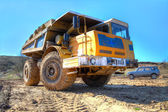 Dumptruck — Stock Photo