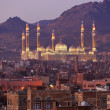 Stock Photo: Sanaa. Morning view on old city