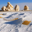 White Desert, Egypt — Stock Photo