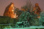 Winter fairyland — Stock Photo