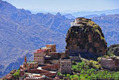 Mountain Yemen, Eastern Haraz, Al-Hutaib — Stock Photo