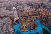 Bird's-eye Dubai view — Stock Photo