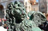 Lev - symbolem Benátek — Stock fotografie