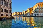 Venecia, gran canal — Foto de Stock