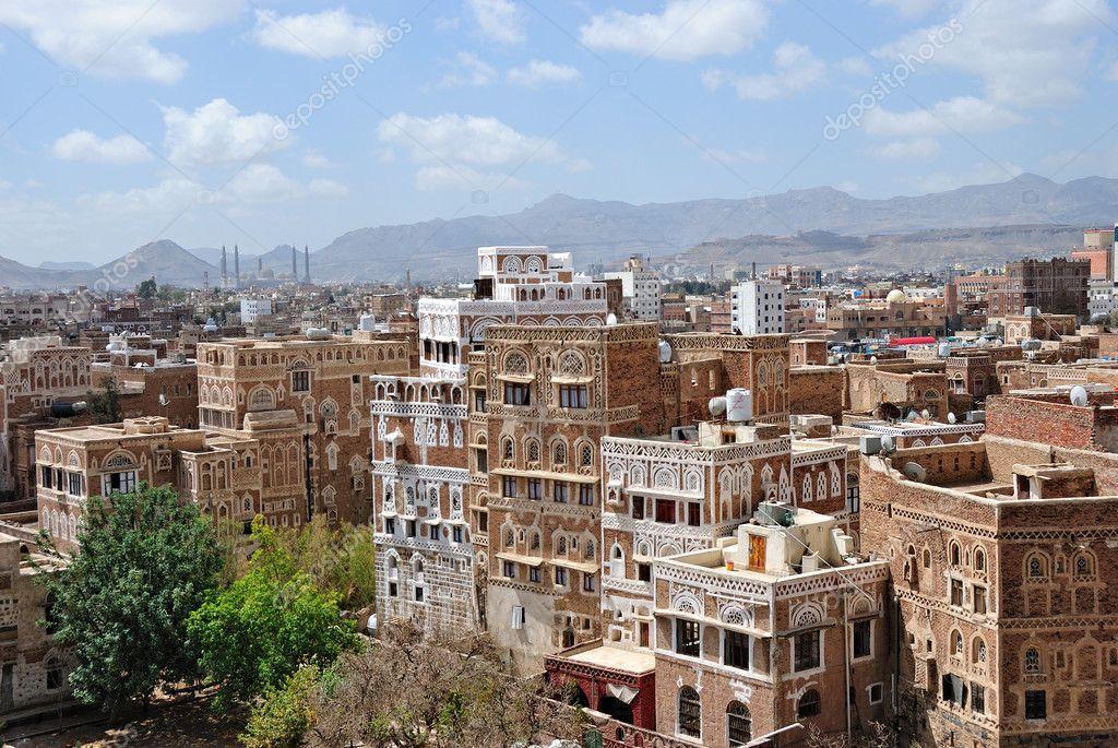 Old Sanaa, capital of Yemen — Stock Photo © znm666 #5450035