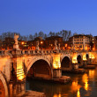 Sant Angelo Bridge — ストック写真