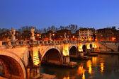 Sant Angelo Bridge — Stock Photo