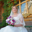 Stock Photo: Pretty bride