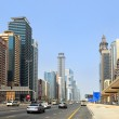 Sheikh Zayed Road, Dubai — Stock Photo #6582480