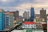 Nairobi, central business district and skyline — Stock Photo