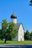 Church Savior of transfiguration in Iljine. — Stock Photo