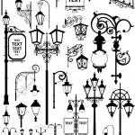 Lanterns — Stock Vector
