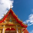 Stock Photo: Roof of temple