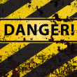 Danger! — Stock Photo
