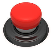 Big red button — Stock Photo