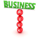 Risky business — Stock Photo