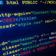 HTML &amp; CSS tags - Stock Photo