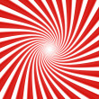 White and red vortex — Stock Photo