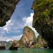 Karst formations in Krabi — Stock Photo