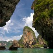Stock Photo: Karst formations in Krabi