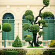 Lawn in Grand Palace — Stock Photo
