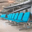 Airport lounge — Stock Photo
