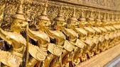 Statues of garuda — Stock Photo