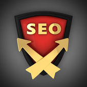 SEO emblem — Stock Photo