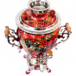 Russian traditional samovar isolated — Stockfoto