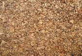 Brown cork wood background — Stock Photo