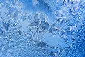Frosty pattern — Stock fotografie