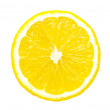 Lemon slice isolated — Lizenzfreies Foto