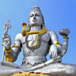 Shiva statue in Murudeswara - Stock Photo