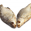Two dried fishes — Foto Stock