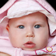 Newborn baby close up — Stockfoto