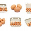 Eggs set — Foto de Stock