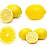 Постер, плакат: Lemons set