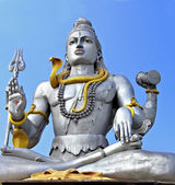 Estátua de shiva em murudeswara — Foto Stock
