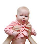 Playful baby — Stock Photo